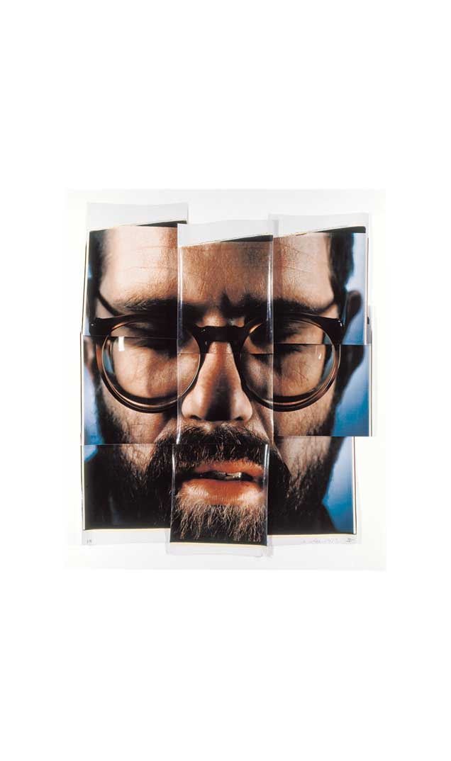 Self-Portrait/Composite/Nine Parts, 1979