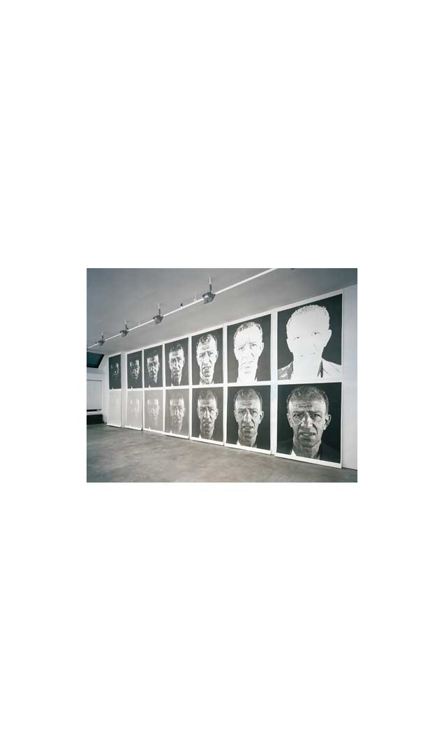View of 'Alex/Reduction Print' proofs, 1991-93