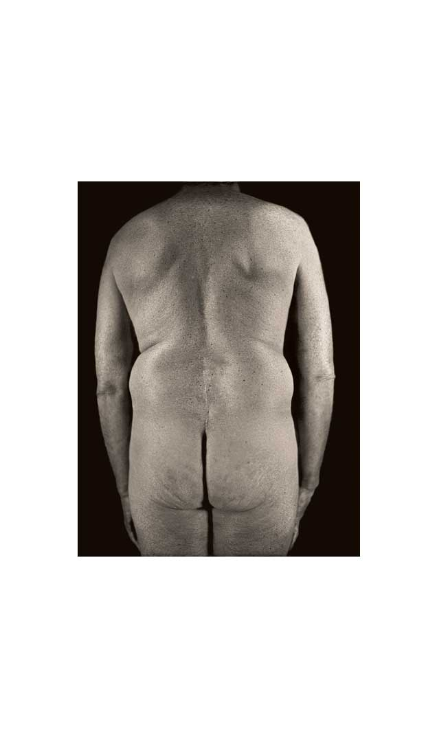 Untitled Torso Diptych (right panel), 2000