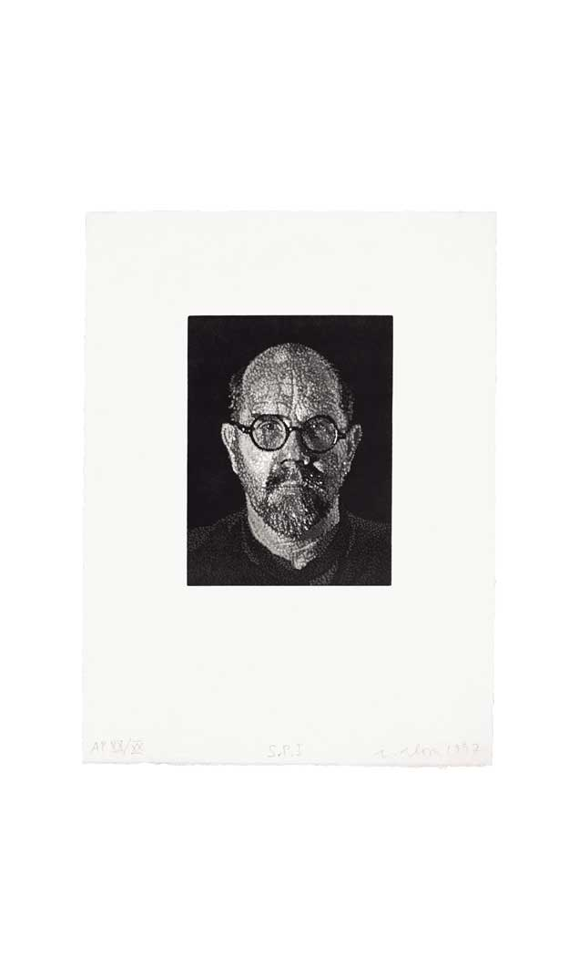 Self-Portrait I (Dots), 1997