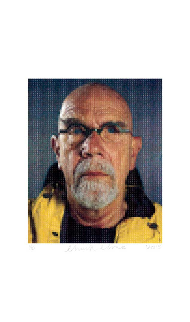 Self-Portrait (Yellow Raincoat), 2013