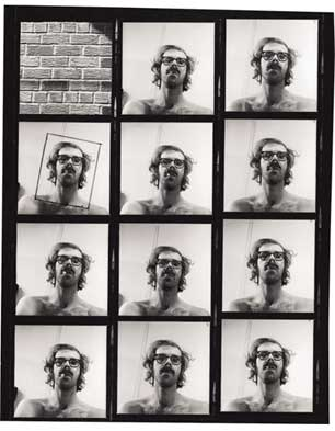 Proof sheet for 'Big Self-Portrait', 1967