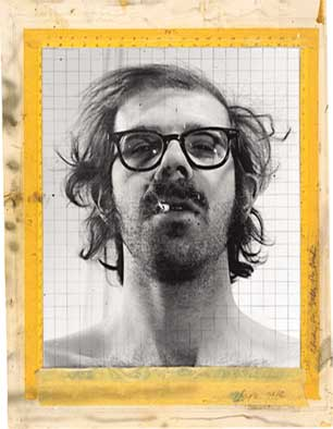 Maquette for 'Self-Portrait', 1968; gelatin silver-prints on foamcore