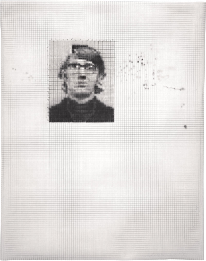 Keith/1,280, 1973; ink and pencil on graph paper (Photo by Kerry Ryan McFate)