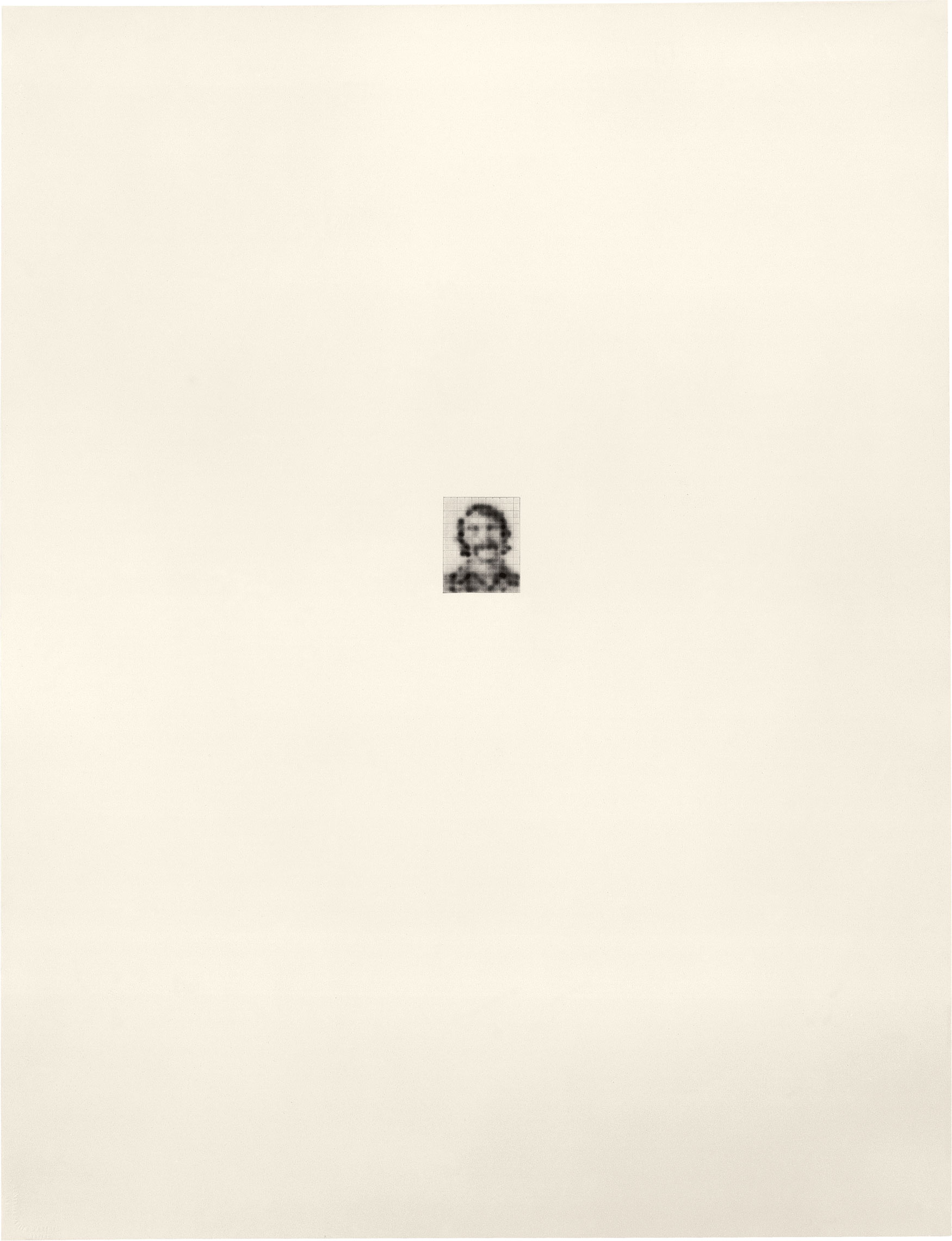 Robert l/154, 1974; ink and graphite on paper (Photo © 1991 Fredrik Marsh)