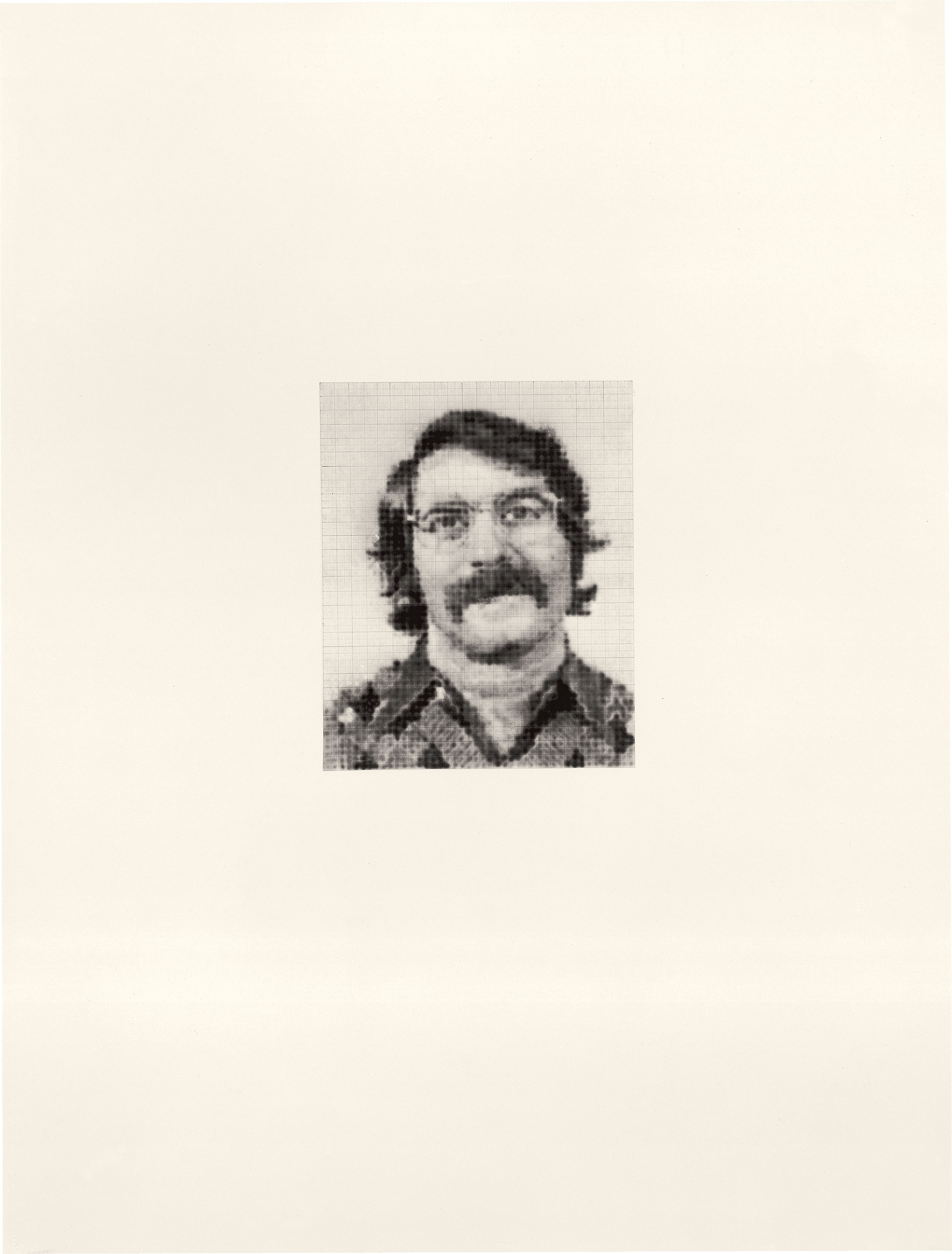 Robert lll/2.464, 1974; ink and graphite on paper (Photo © 1991 Fredrik Marsh)