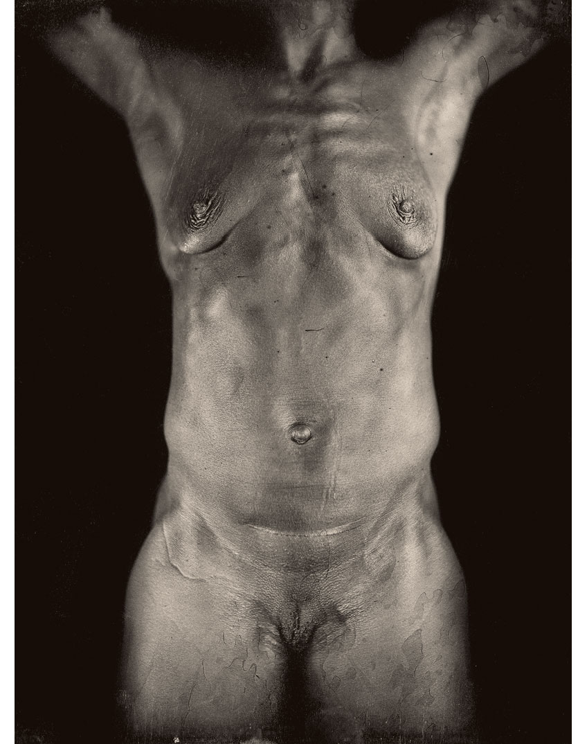 Untitled Torso Diptych (left panel), 2000 (Photo by Chuck Close and Jerry Spagnoli)