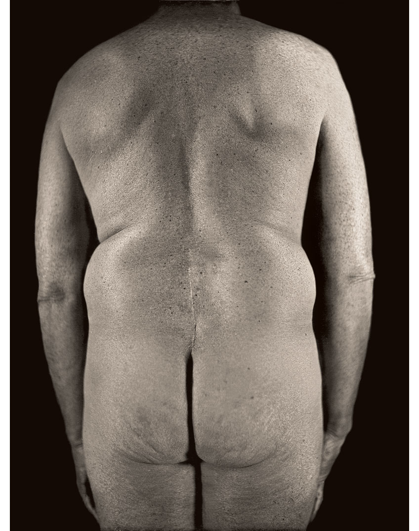 Untitled Torso Diptych (right panel), 2000 (Photo by Chuck Close and Jerry Spagnoli)