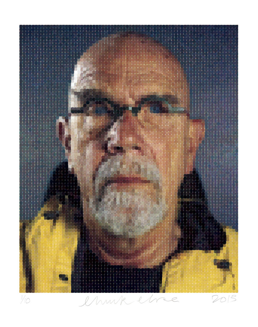 Self-Portrait (Yellow Raincoat), 2013 (Photo courtesy Magnolia Editions, Oakland)